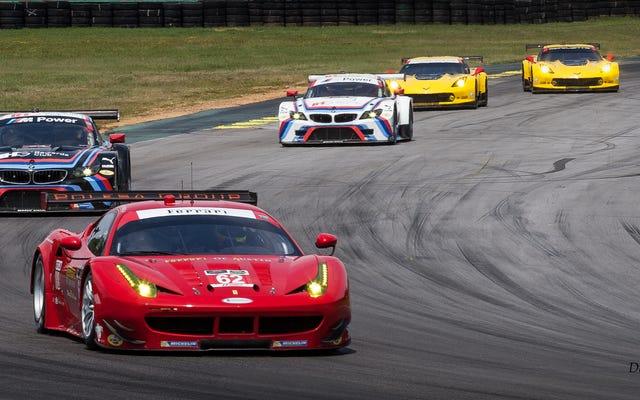 VIR पिछले सप्ताहांत में सभी स्पोर्ट्स कार रेसिंग अच्छाई को निहारना