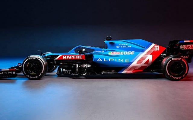 Livrées de Formule 1 2021, classées