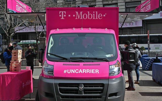T-Mobileが2GBのデータを備えた新しい超格安$ 15接続プランを発表