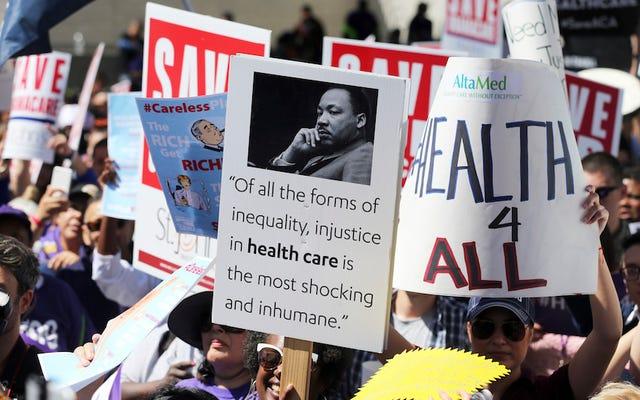 โดนัลด์ทรัมป์บอกพรรครีพับลิกันหากพวกเขาไม่ลงคะแนนให้กับบิลการดูแลสุขภาพ Obamacare Stays