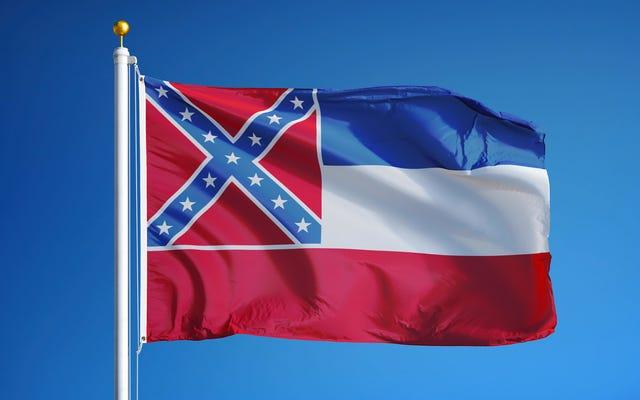ミシシッピ州議会議員は、州旗から南軍のシンボルを削除する法案を起草しています