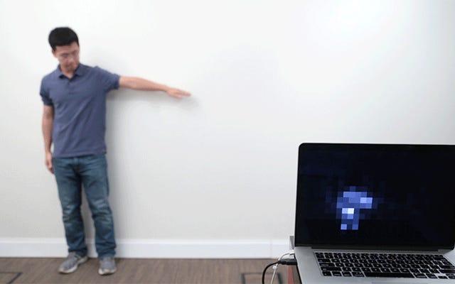 この安価な塗装技術は、壁を巨大なタッチセンサーに変えます