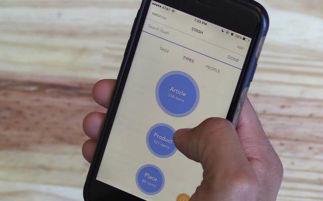 Stashは、自動整理、リマインダーなどを備えたブックマークツールです