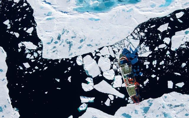 Mikroplastiki zaatakowały Arktykę, a zmiany klimatyczne mogą pogorszyć sytuację