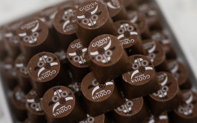 Diga un adiós agridulce, 73% de cacao a las tiendas Godiva