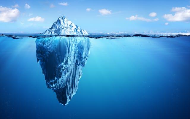 ट्रिलियन टन हिमखंड जो अंटार्कटिका से बस टूट गया था, जाहिर तौर पर सिर्फ एनबीसी खरीदने की कोशिश कर रहा था