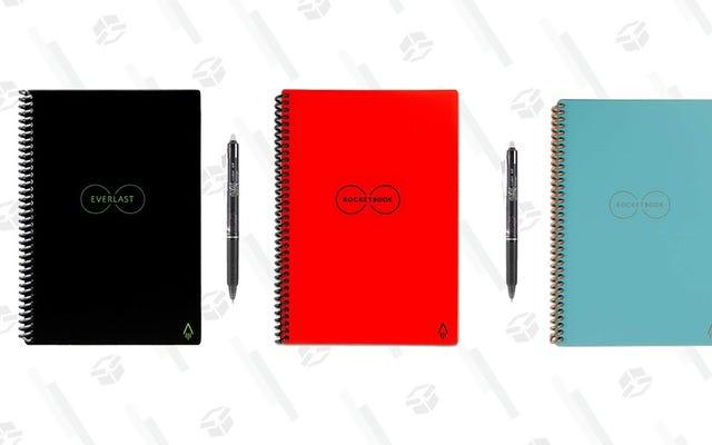 Faça anotações infinitas com estes conjuntos de blocos e canetas apagáveis de $ 45