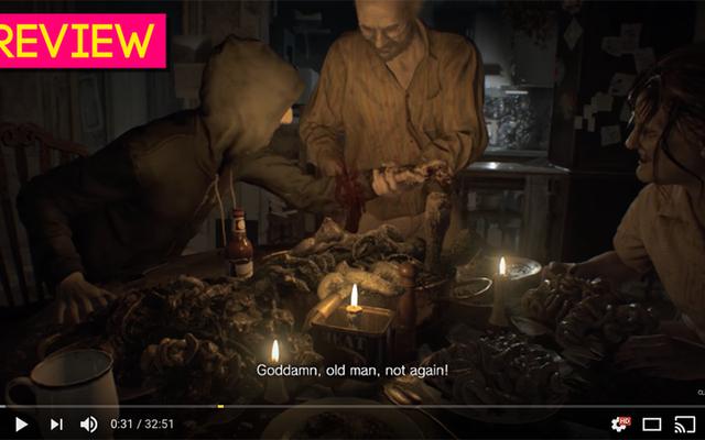 Regarder quelqu'un d'autre jouer à Resident Evil 7 sur YouTube: la revue Kotaku