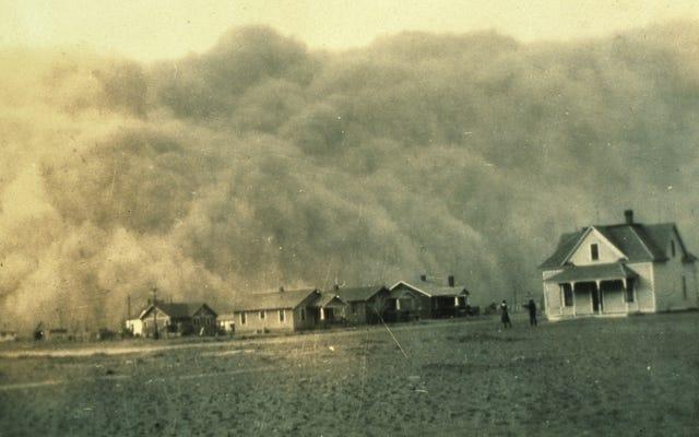 科学者たちは、気候変動がダストボウルを歴史書から取り戻す可能性があると警告している
