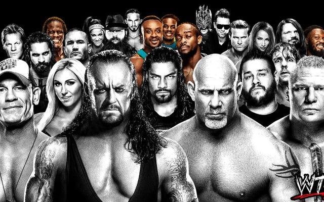 ทำไมไม่มีดาว WWE สีดำอีก