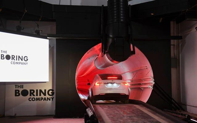 Elon Musk's Las Vegas Tunnel trochę do bani?
