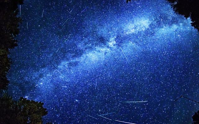 8月23日まで流星群が起こっているのを見る方法