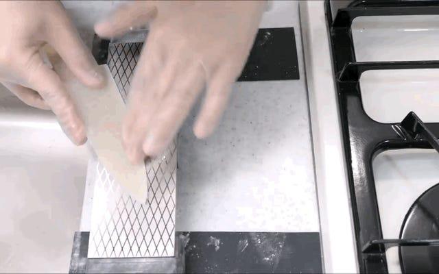 米粒を驚くほど機能的なキッチンナイフに変える方法