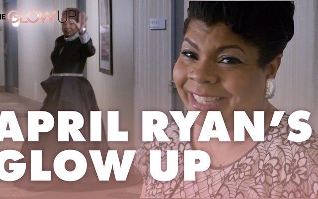 女王がやってくる:エイプリル・ライアンがホワイトハウス記者協会のディナーのために彼女を輝かせた方法