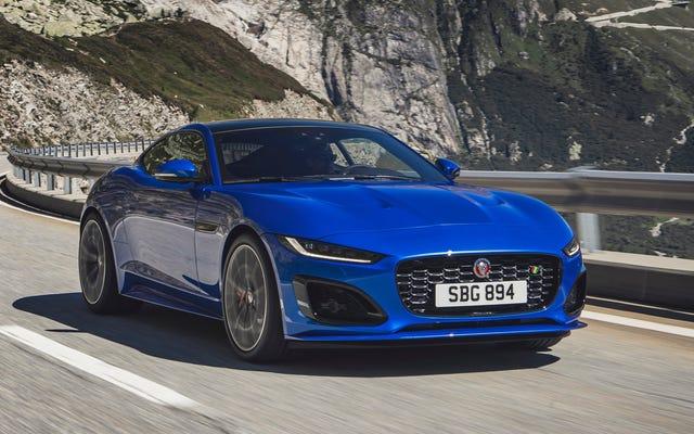 รถจากัวร์ F-Type รุ่นปรับโฉมปี 2021 ได้รับความนิยมอย่างมาก