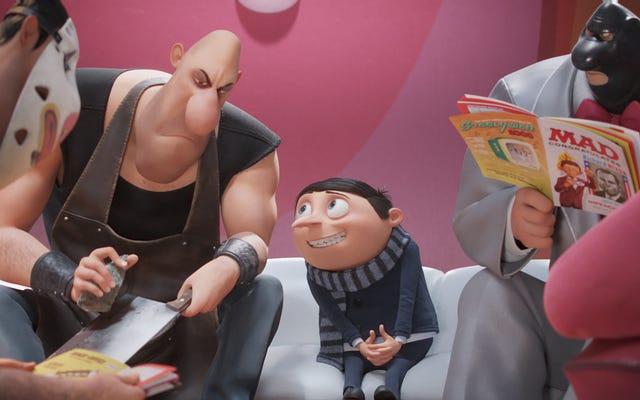 Tiny Gru è davvero carino in questo trailer di Minions: The Rise Of Gru
