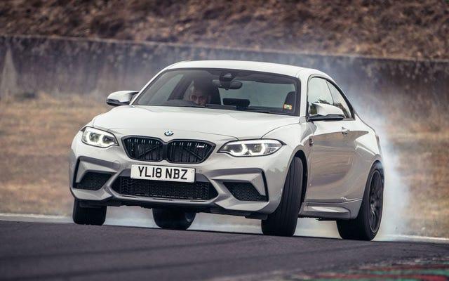 ปรากฎว่าการแข่งขัน BMW M2 นั้นยอดเยี่ยมในการขับขี่