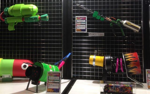 Hayranlar Splatoon Silahlarını Gerçek Dünyaya Getiriyor