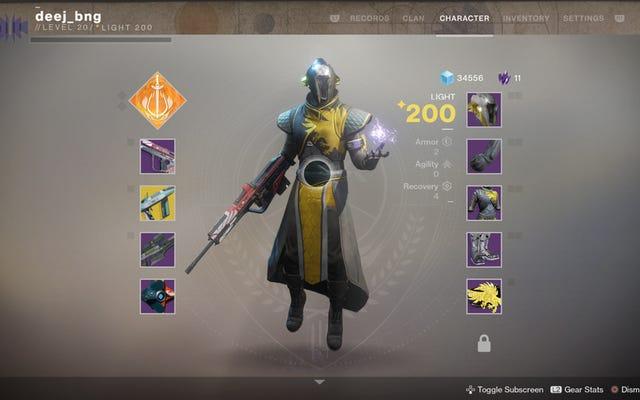 Những người chơi Hardcore Destiny sẽ nhận được các biểu tượng trong Destiny 2