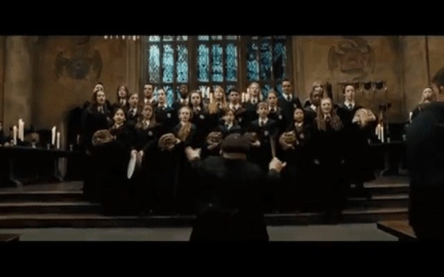 Si esta es realmente la canción perdida de Harry Potter de Bruce Springsteen, es terriblemente terrible
