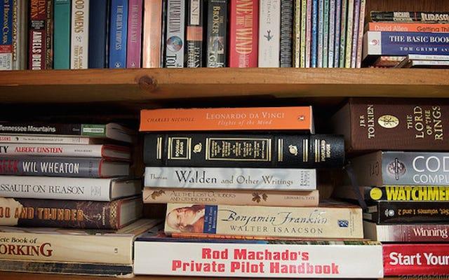 इस ट्राइएज सिस्टम के साथ पुरानी किताबों को हटा दें