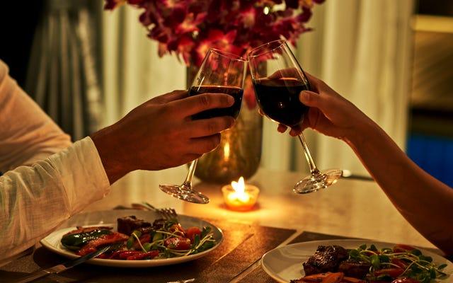 Traitez la Saint-Valentin comme un dîner pour deux