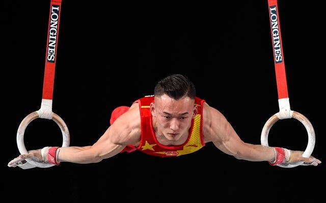 China vuelve a la cima en gimnasia masculina