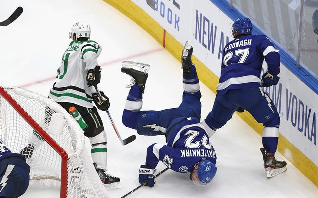 Lightning Do Mighty Fine Impression of Dallas Stars to Tie Series With Dallas Stars