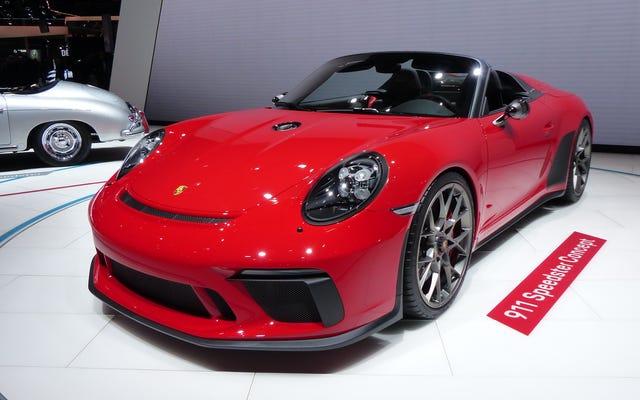 Porsche construit une superbe nouvelle 911 Speedster, mais seulement 1948 d'entre elles