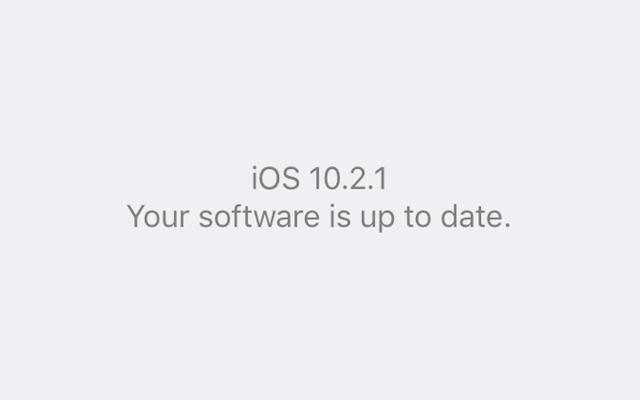 iOS 10.2.1は、iPhone6および6sの所有者にとって厄介なランダムシャットダウンを削減しています