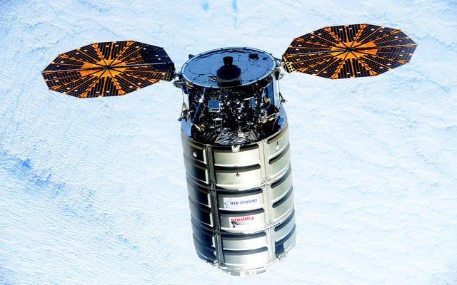 はくちょう座は宇宙ステーションのカーゴクラフトの中で最もかわいいです