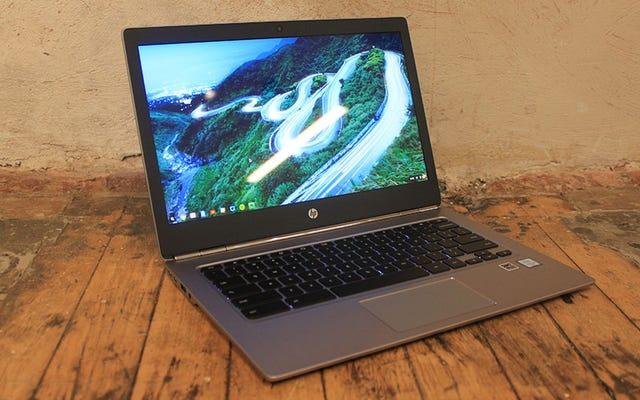 HP अंततः एक उच्च गुणवत्ता वाला Chromebook बना रहा है