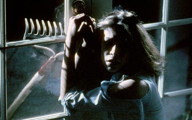 Джейми Ли Кертис впервые смотрит на Лори Строуд в новом Хэллоуине