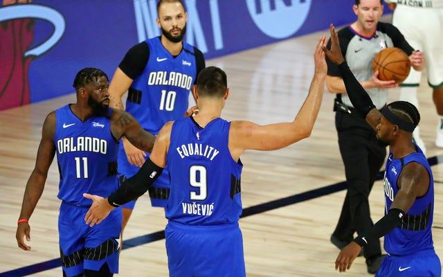 NBAのトレード期限は、私がオーランドマジックを放棄するように最善を尽くしましたが、私は動かされません
