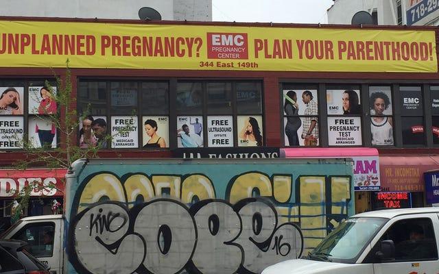 妊娠中絶センター開示法に反対する中絶反対グループの主張を審理する最高裁判所