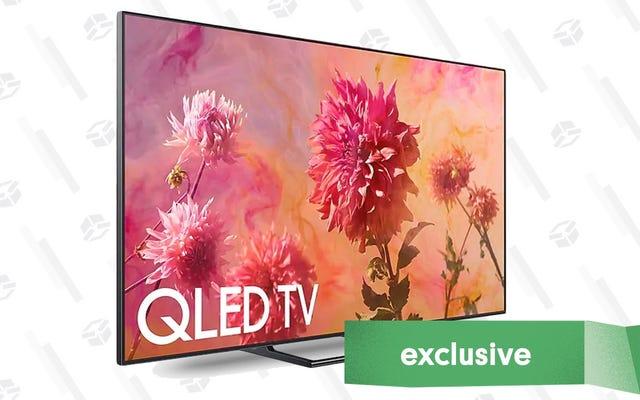 Obtenga $ 1,500 adicionales de descuento en el precio del Black Friday del mejor televisor de Samsung. Seriamente. [Exclusivo]