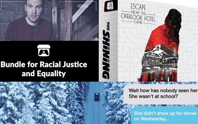 Las compañías de juegos abordan Black Lives Matter, The Shining obtiene una sala de escape y más en noticias de juegos