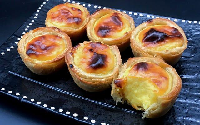 ポルトガルのエッグタルトはあなたがこれまでに焼く最もセクシーなものです