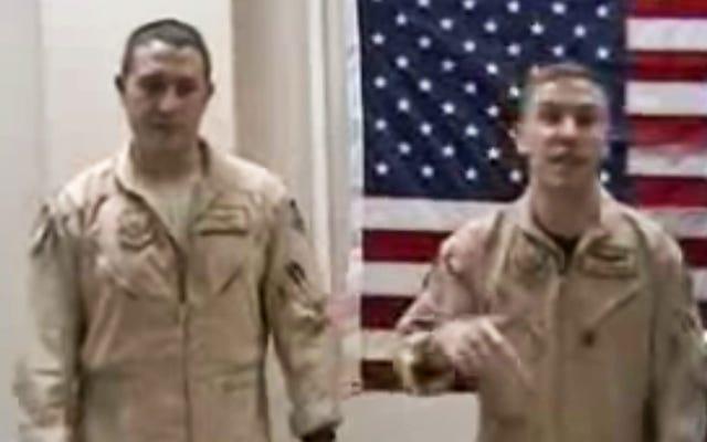 Les pilotes de F-16 déplorent le destin de leur drone prédateur dans cette vidéo de rap