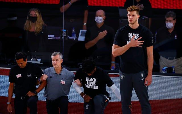 Bola basket seharusnya malu dengan tamparan Meyers Leonard di pergelangan tangan