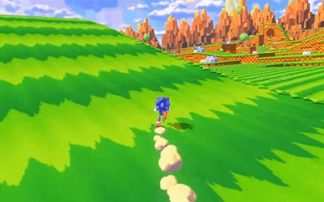 Sonic The Hedgehog en monde ouvert créé par des fans