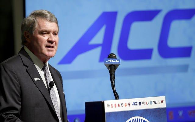 ACCは反LGBT法をめぐってノースカロライナからチャンピオンシップを引き出します