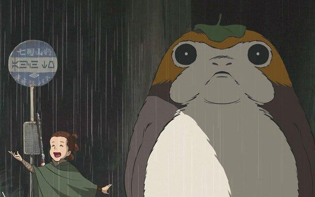 Este Último Jedi e Meu Vizinho Totoro Mashup Derreterão Seu Coração