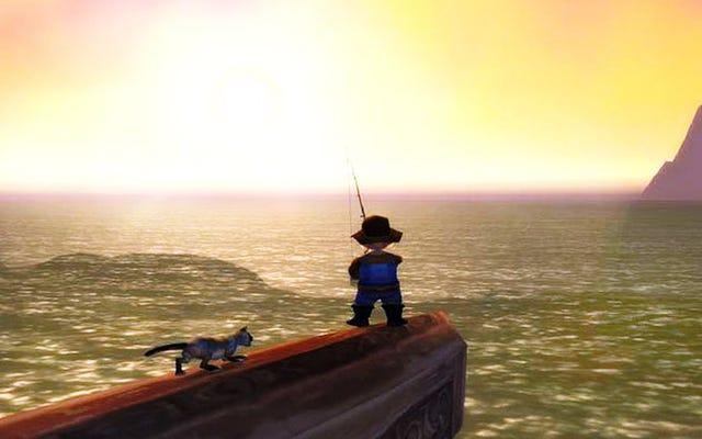 World of Warcraft:Legionがアーティファクトを取得しています...釣り竿
