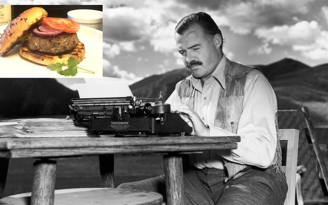 Pour qui sonne le gril: faites les hamburgers d'Ernest Hemingway