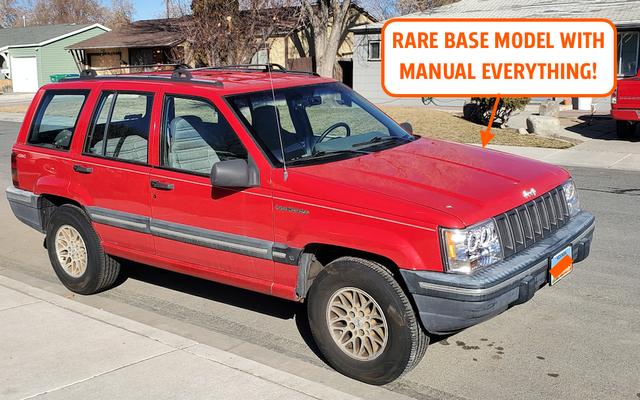 ทำไม Jeep Grand Cherokee 'Holy Grail' นี้ถึงหายากมากและทำไมฉันถึงซื้อมันมองไม่เห็นจากระยะทาง 2,000 ไมล์