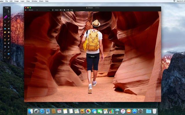 Pixelmator สำหรับ Mac เพิ่มเครื่องมือการเลือกใหม่และส่วนขยายรีทัชสำหรับแอปรูปภาพ