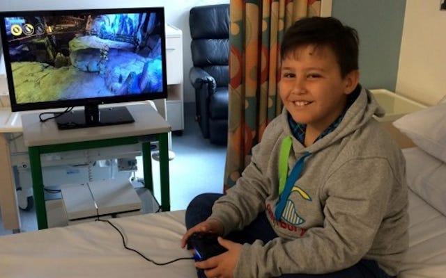 Des voleurs volent la PlayStation 4 au service du cancer pour enfants