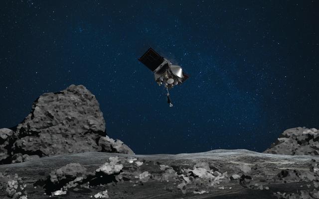 Mire en vivo: la nave espacial de la NASA va a recoger un asteroide