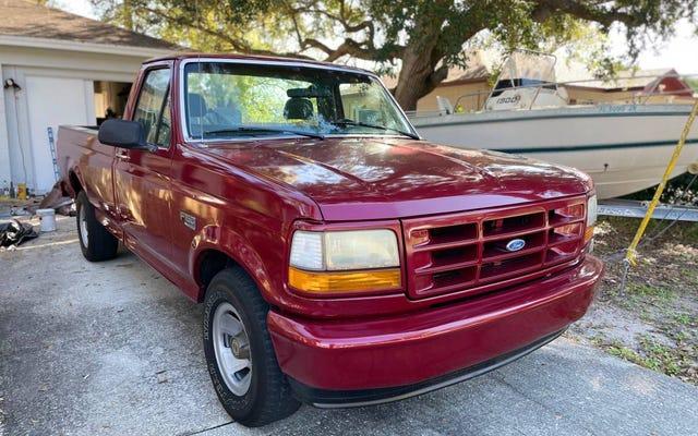 Czy ten Ford F-150 z 1995 r. Będzie bestsellerem przy cenie 7000 USD?